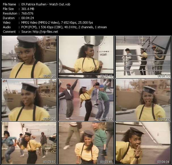 Patrice Rushen video screenshot