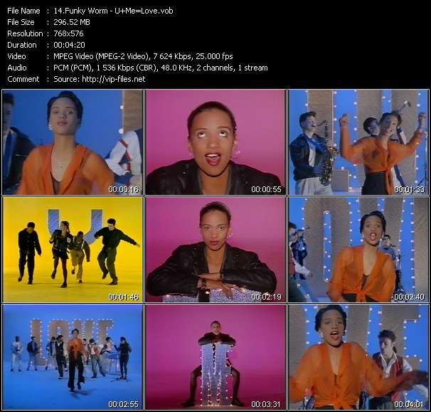 Funky Worm video screenshot