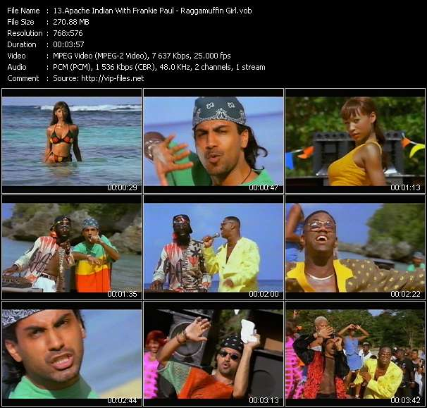 Apache Indian With Frankie Paul video screenshot