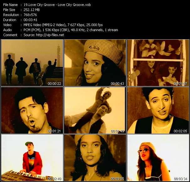 Love City Groove video screenshot