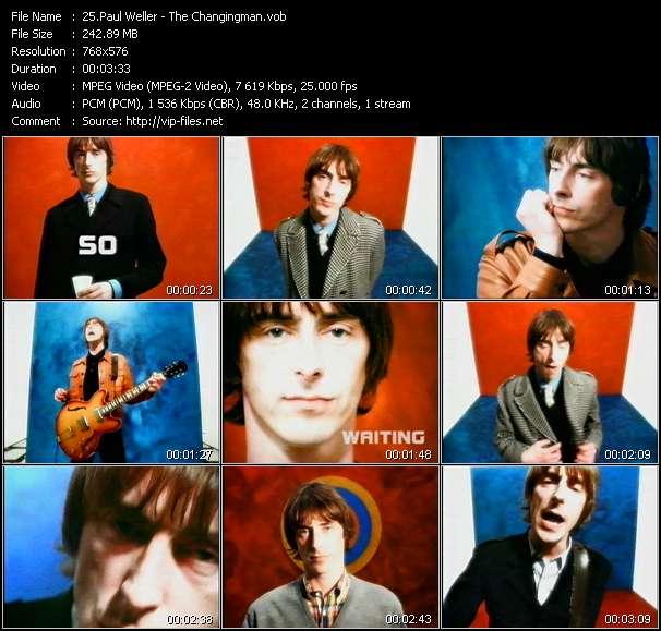 Paul Weller video screenshot