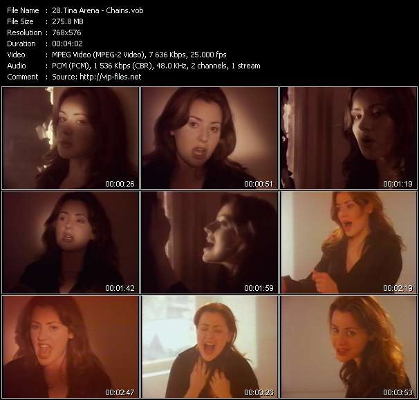 Tina Arena video screenshot