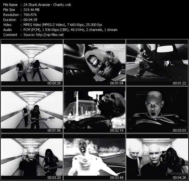 Skunk Anansie video screenshot