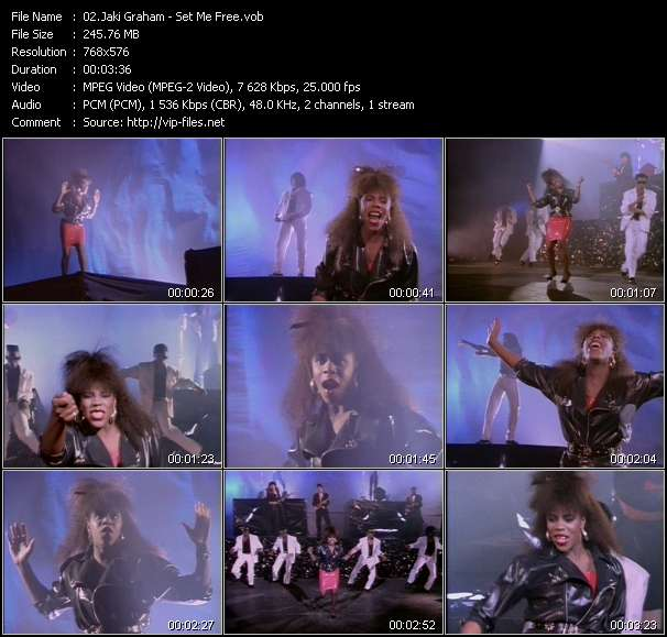 Jaki Graham video screenshot