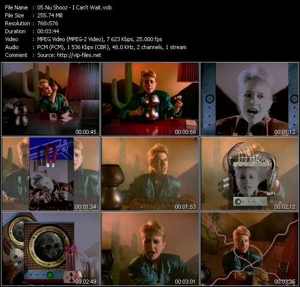 Nu Shooz video screenshot