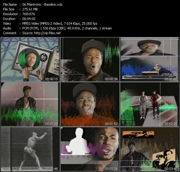Mantronix video screenshot