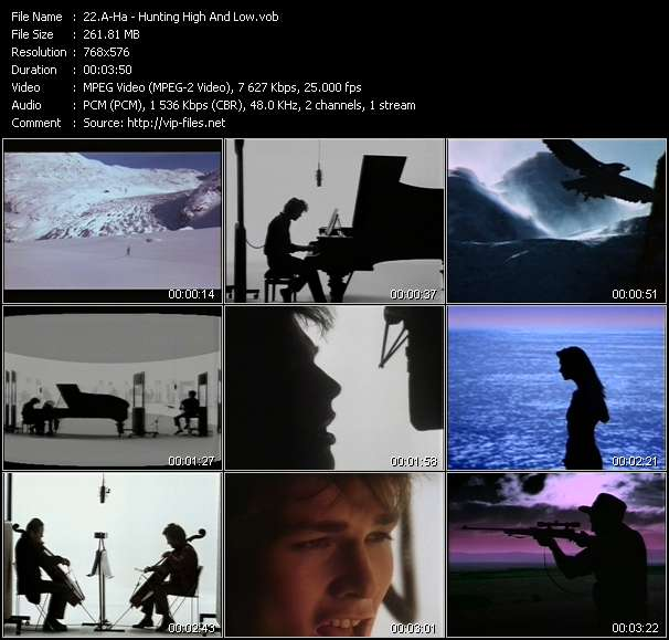 A-Ha video screenshot