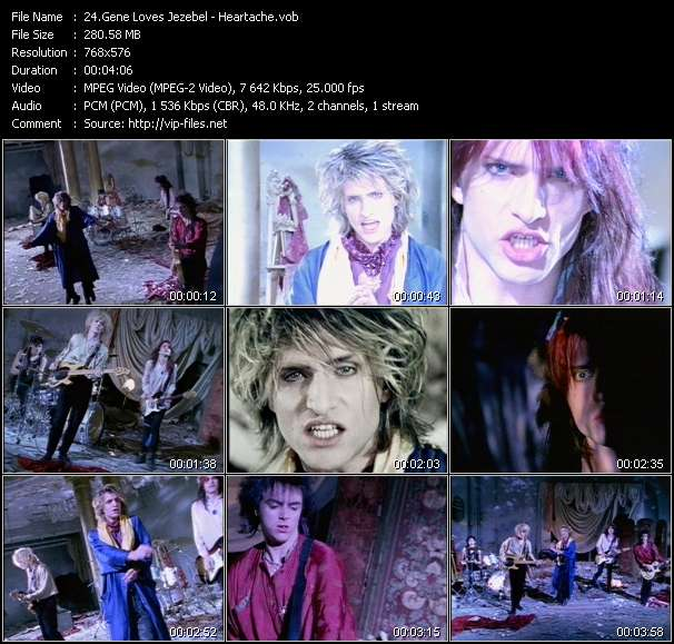 Gene Loves Jezebel video screenshot