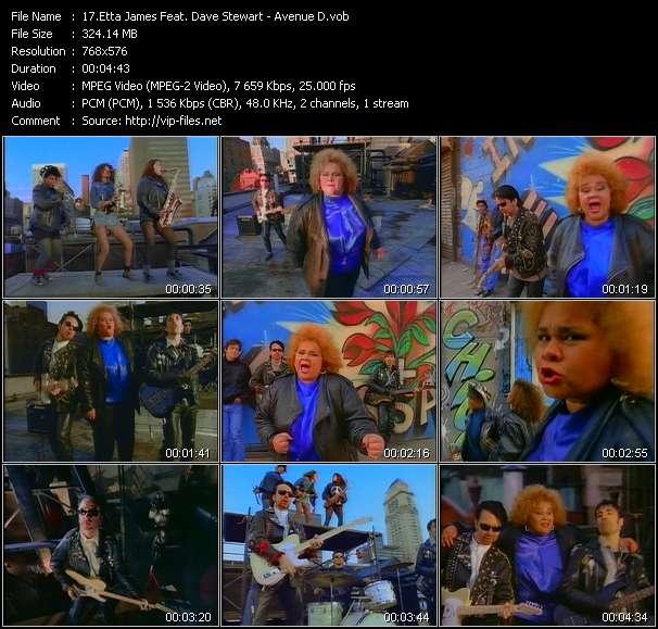 Etta James Feat. Dave Stewart video screenshot