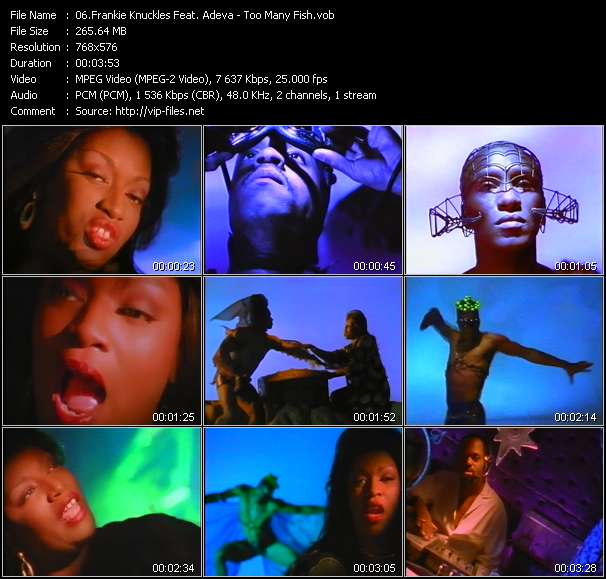Frankie Knuckles Feat. Adeva video screenshot