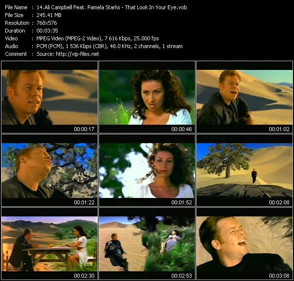 Ali Campbell Feat. Pamela Starks video screenshot