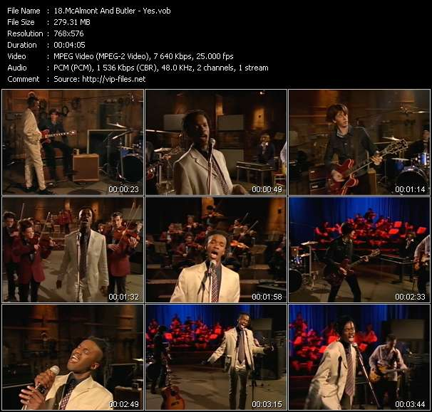 McAlmont And Butler video screenshot
