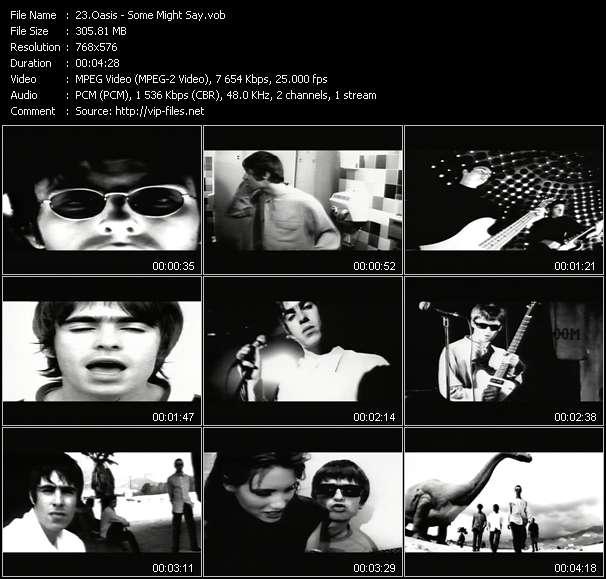 Oasis video screenshot