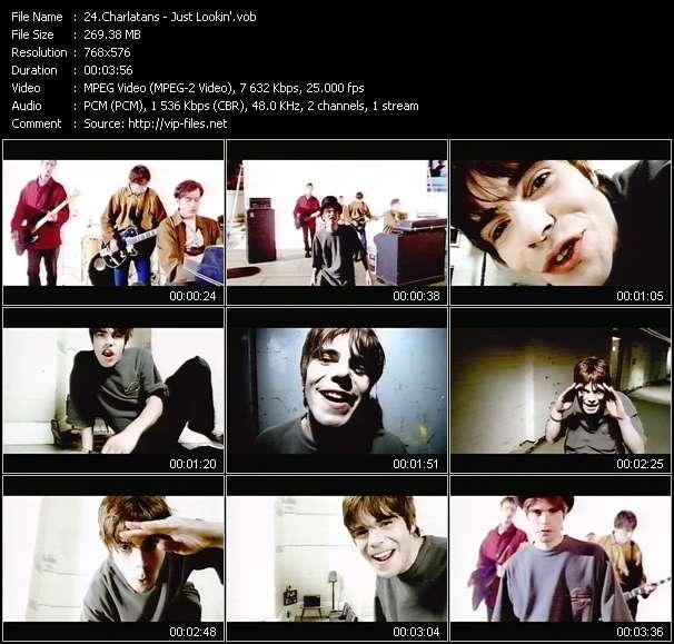 Charlatans video screenshot