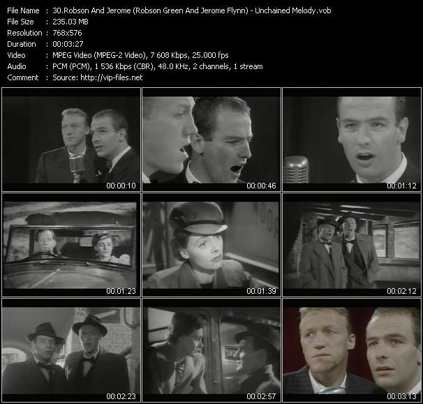 Robson And Jerome (Robson Green And Jerome Flynn) video screenshot