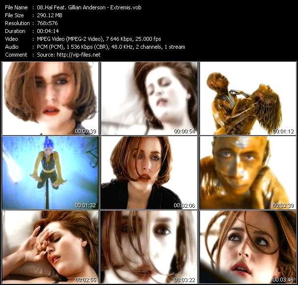 Hal Feat. Gillian Anderson video screenshot