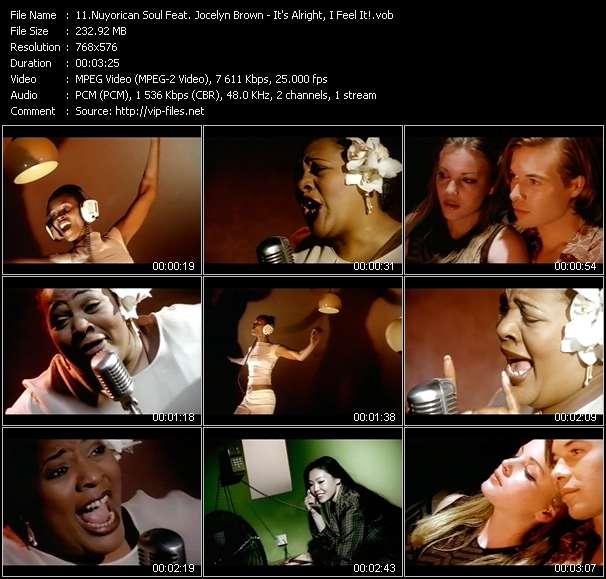 Nuyorican Soul Feat. Jocelyn Brown video screenshot