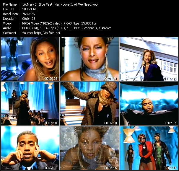 Mary J. Blige Feat. Nas video screenshot