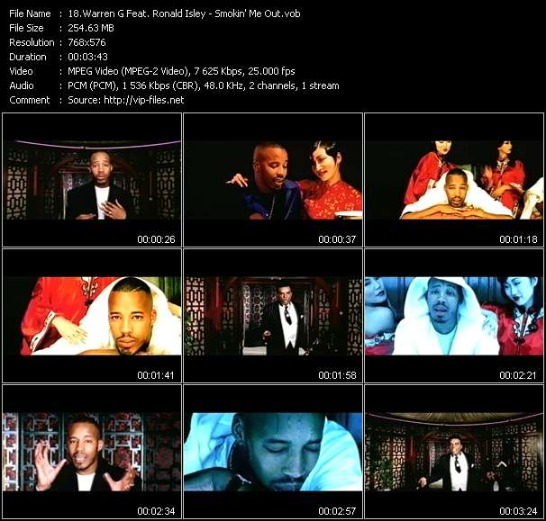 Warren G Feat. Ronald Isley video screenshot