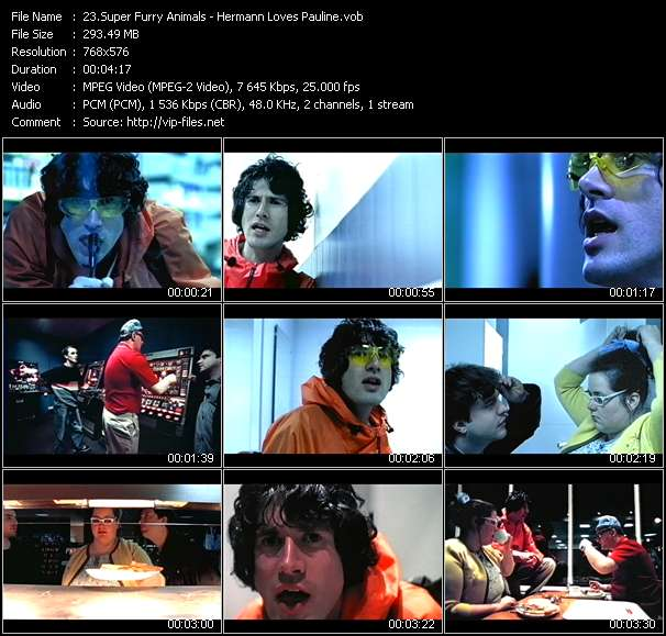 Super Furry Animals video screenshot