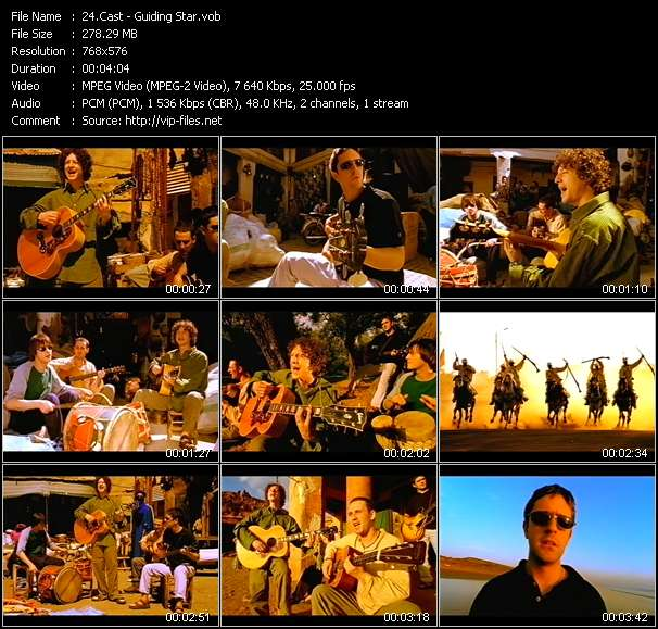 Cast video screenshot
