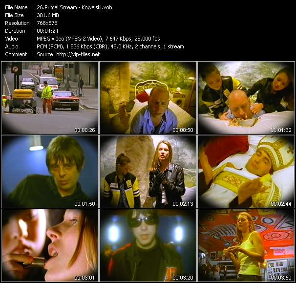 Primal Scream video screenshot
