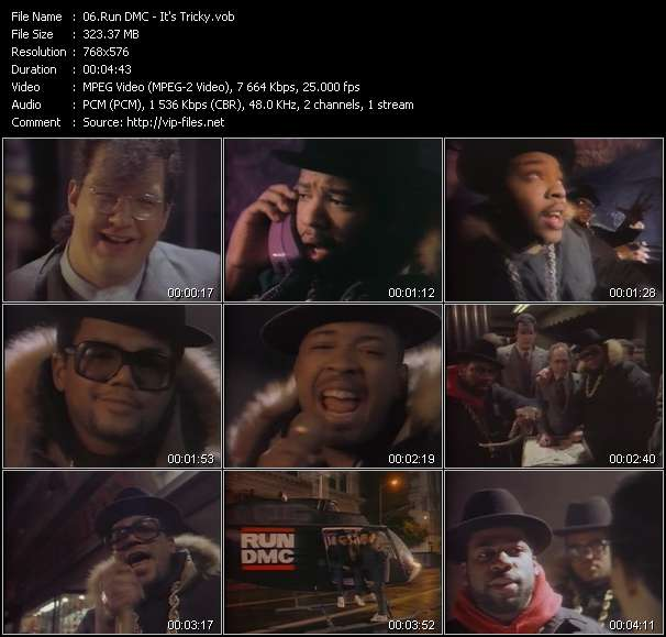 Run DMC video screenshot