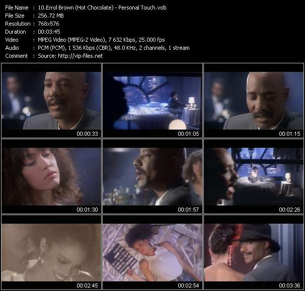 Errol Brown (Hot Chocolate) video screenshot