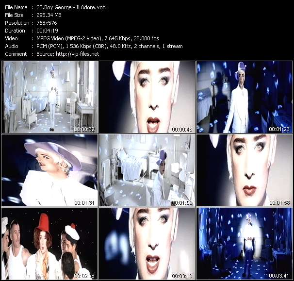 Boy George video screenshot