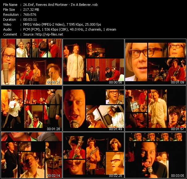 Emf, Reeves And Mortimer video screenshot