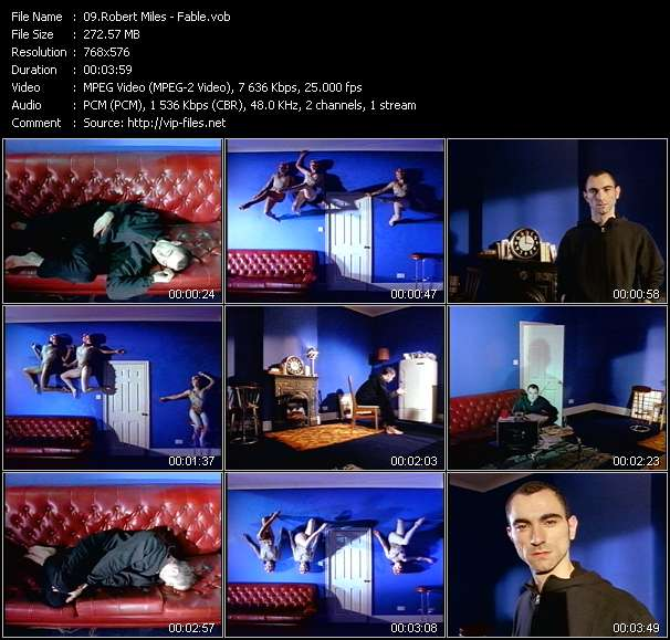 Robert Miles video screenshot