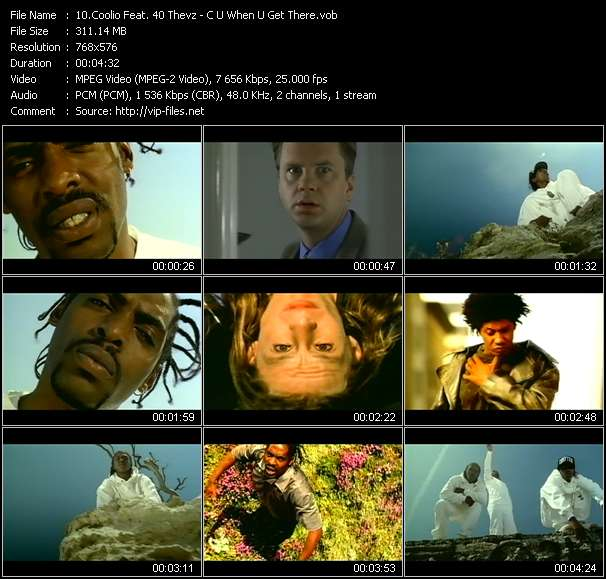 Coolio Feat. 40 Thevz video screenshot