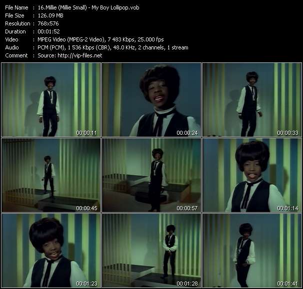 Millie (Millie Small) video screenshot