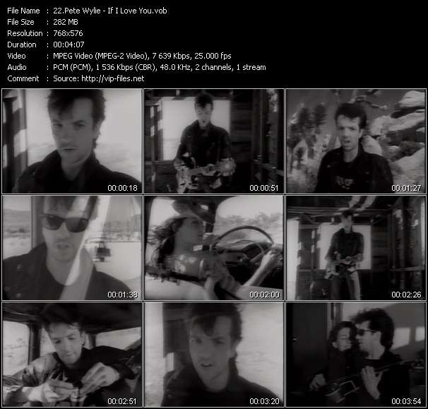 Pete Wylie video screenshot
