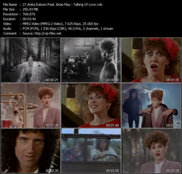 Anita Dobson Feat. Brian May video screenshot