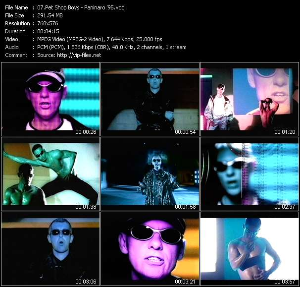 Pet Shop Boys video screenshot