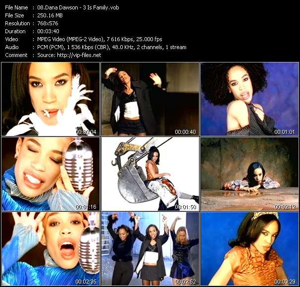 Dana Dawson video screenshot
