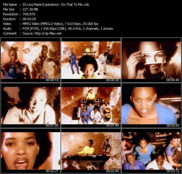 Lisa Marie Experience video screenshot