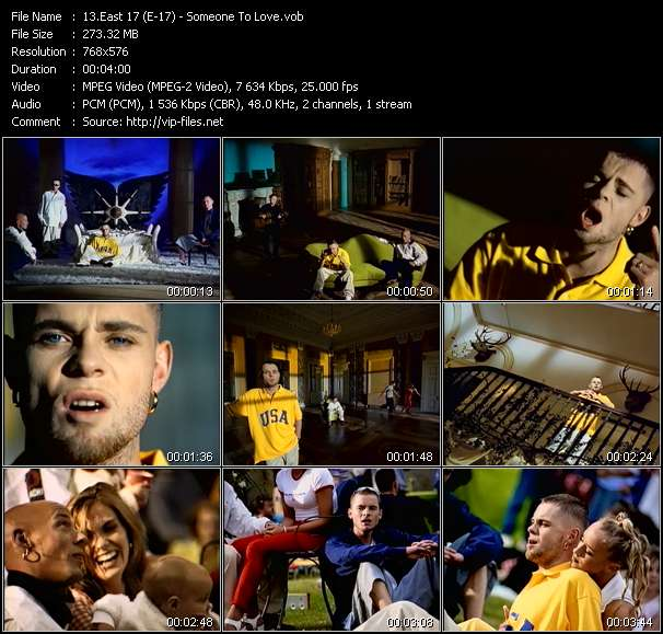 East 17 (E-17) video screenshot