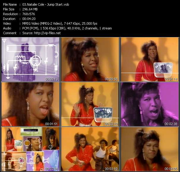 Natalie Cole video screenshot