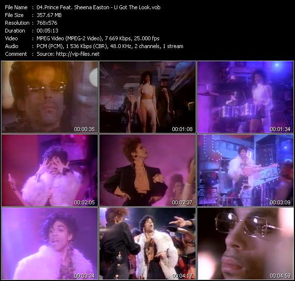 Prince Feat. Sheena Easton video screenshot