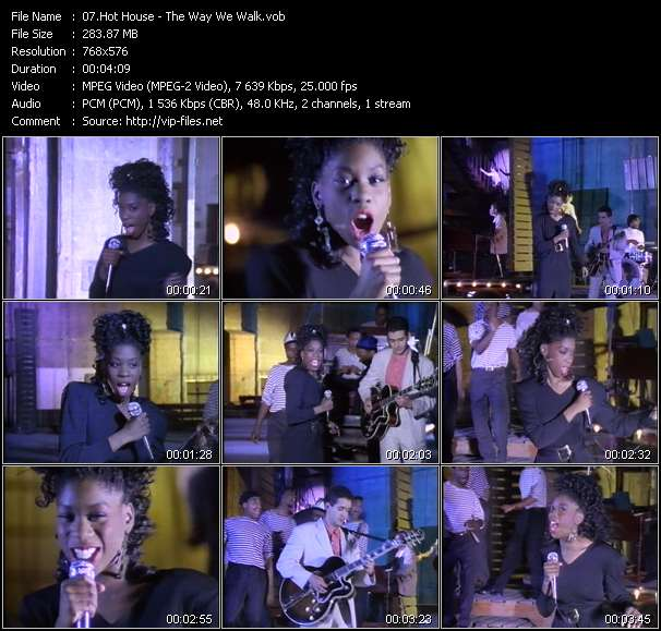 Hot House video screenshot