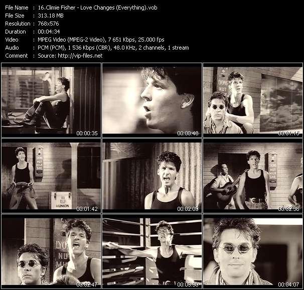 Climie Fisher video screenshot