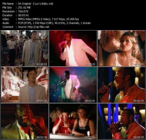 Original video screenshot