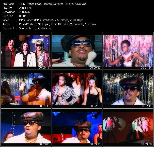 N-Trance Feat. Ricardo Da Force video screenshot