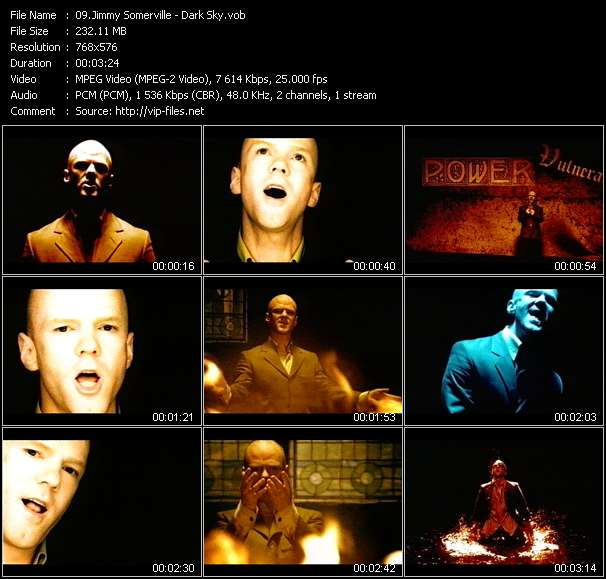 Jimmy Somerville video screenshot