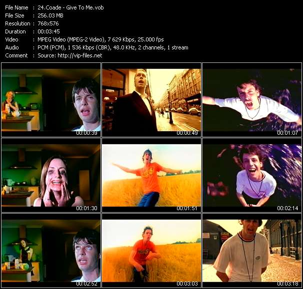 Coade video screenshot