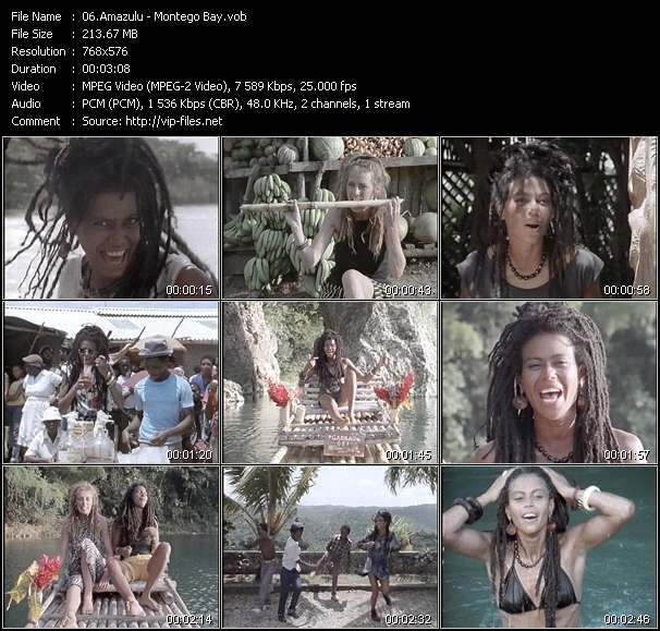 Amazulu video screenshot