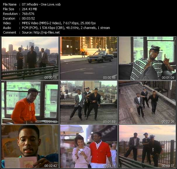 Whodini video screenshot