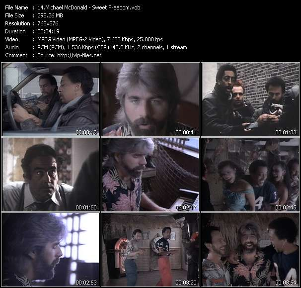 Michael McDonald video screenshot